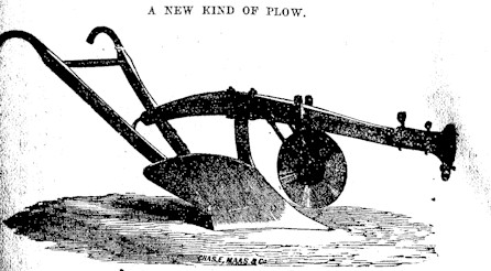 Steel Plow Drawing